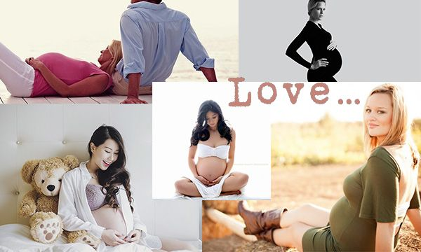 Лучшие позы для беременных для фотосессии 13